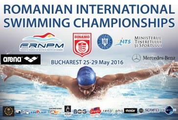 Inot: Campionatele Internationale de inot ale Romaniei se disputa intre 25 si 29 mai