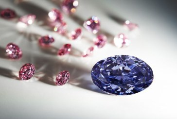 Un extraordinar diamant violet de 2,83 carate a fost prezentat in Australia