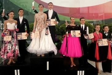 """Dans sportiv: Doua medalii pentru Galactic Dance Baia Mare la """"Cupa Feeling Dance"""" (FOTO)"""
