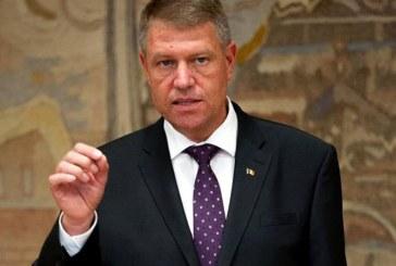 Iohannis: Solicit public demisia premierului Dancila