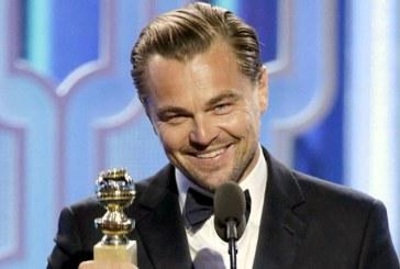 Leonardo DiCaprio a zburat cu avionul personal 13.000 de kilometri ca sa primeasca un premiu pentru angajamentul in favoarea mediului
