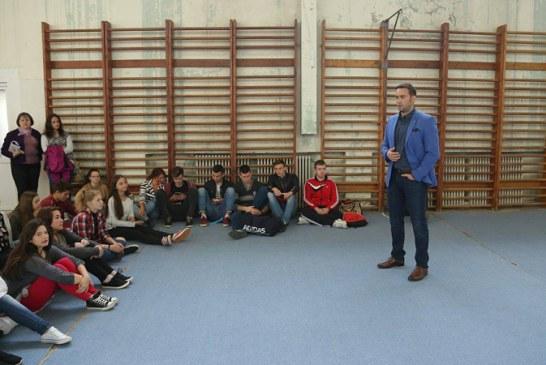 Intalnire eveniment cu elevii si profesorii de la Liceul Sportiv Baia Mare