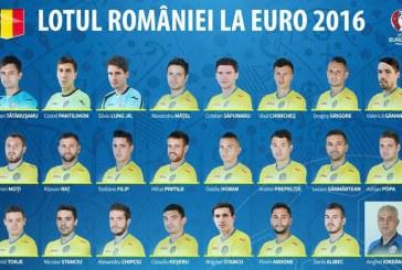 Fotbal: Lotul Romaniei pentru EURO 2016