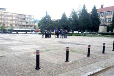 Protestul de sustinere a lui Catalin Chereches, un fiasco (FOTO)