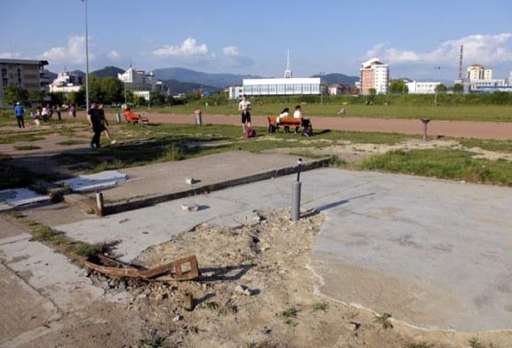 Dezastru: Terenul de atletism din Baia Mare sau rusinea sportului