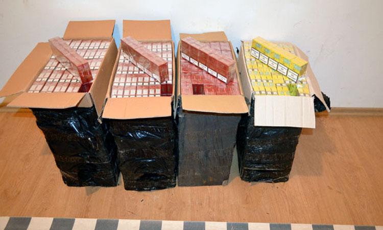 Contrabanda: Alte 4.000 de pachete cu tigari confiscate in Maramures
