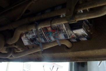 Peste 10.000 pachete tigari confiscate de catre politistii de frontiera