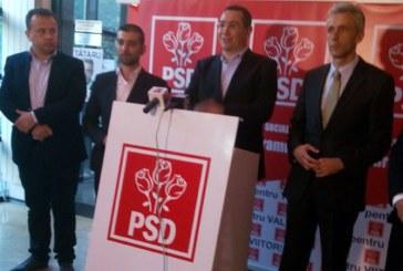 Victor Ponta, prezent in Maramures pentru a sustine candidatii PSD