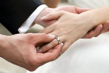 Numarul casatoriilor a crescut cu 6,2%, iar cel al divorturilor cu 15,9%, anul trecut