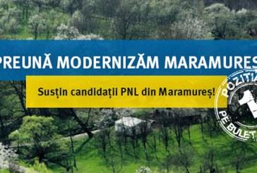 Voteaza!Administratie liberala pentru Consiliul Judetean Maramures