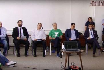 Dezbatere electorala: Candidatii la Primaria Baia Mare, luati la intrebari de tinerii din oras (VIDEO)