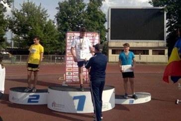 Liceul cu Program Sportiv Baia Mare, aur la disc (FOTO)