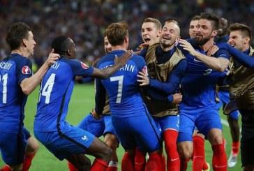 EURO 2016: Franta revine superb cu Irlanda si se califica in sferturi