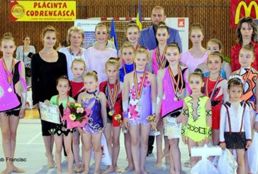25 de medalii obtinute de LPS Baia Mare la Campionatul National Scolar de Gimnastica Ritmica