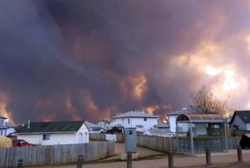 Cenusa generata de incendiile din Canada a ajuns deasupra Elvetiei