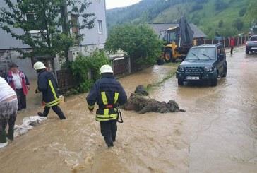 Inundatiile au produs pagube de 7.440 mii lei in Maramures