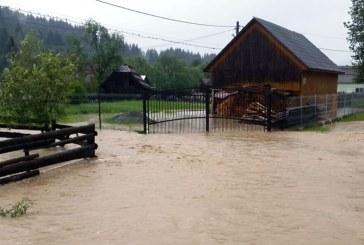 Efecte inundatii: Bani de la Consiliul Judetean pentru Borsa si Suciu de Sus