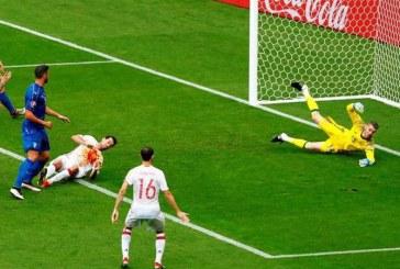 EURO 2016: Italia a invins campioana europeana Spania cu 2-0 si s-a calificat in sferturi