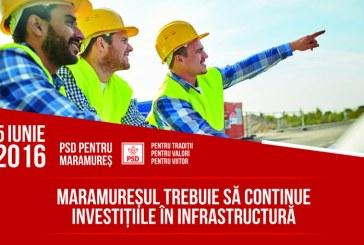 Gabriel Zetea: Maramuresul trebuie sa continue investitiile in infrastructura