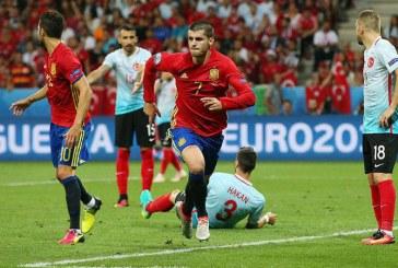 EURO 2016: Spania s-a calificat in optimi, dupa 3-0 cu Turcia