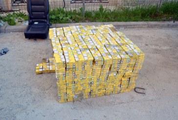 Peste 79.000 pachete cu tigari de contrabanda confiscate de politistii maramureseni in prima jumatate a anului