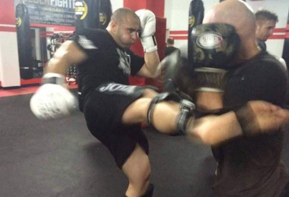Baimareanul Andrei Sugar, facut knockout in cadrul Galei Superkombat, de la Mamaia