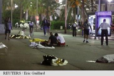 Atentat la Nisa: Un camion a intrat in multime de Ziua Nationala a Frantei. 84 de morti si 18 raniti in stare critica, soferul a fost impuscat