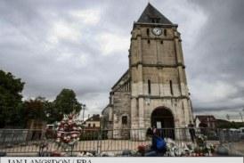 Preot ucis intr-o biserica catolica din Franta: Al doilea atacator, 'identificat oficial'