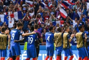 """EURO 2016: Franta, calificata """"en fanfare"""" in semifinale, dupa 5-2 cu Islanda"""