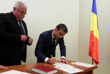 Vlad Sorin Ilie si Gheorghe Marian au devenit consilieri judeteni