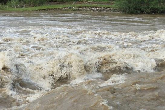 Cod portocaliu de inundatii in Maramures