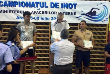 Jandarm maramuresean, vicecampion la campionatul de inot al MAI