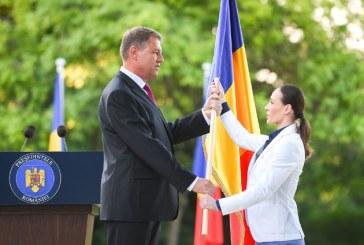 Ce le transmite Klaus Iohannis sportivilor care reprezinta Romania la Jocurile Olimpice 2016