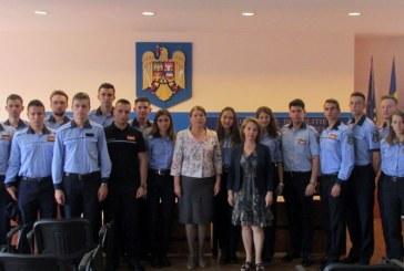 Studenti in practica la Inspectoratul de Politie al Judetului Maramures