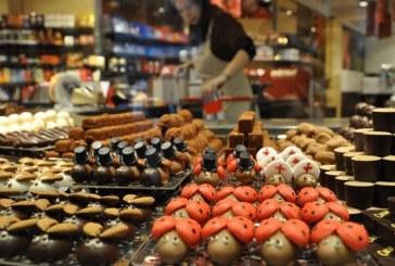 Exporturile de ciocolata, in crestere cu aproape 80% in primele patru luni