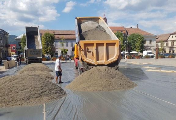Au inceput pregatirile pentru evenimentul Beach Handball Baia Mare (VIDEO&FOTO)