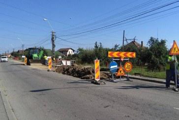 Trafic de cosmar: Baimarenii, nemultumiti de modul in care se efectueaza lucrarile pe strazile din oras (FOTO)