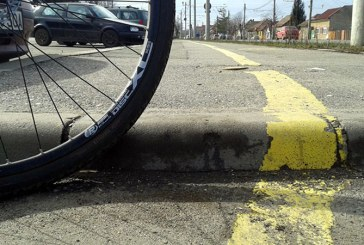 Biciclist accidentat mortal la Moisei