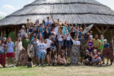 La Mediesu Aurit a avut loc a doua editie a taberei de arheologie experimentala pentru copii – editia a 2-a