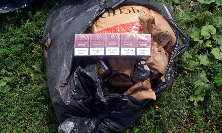 Contrabanda: Aproape 37.000 de pachete cu tigari confiscate in Maramures