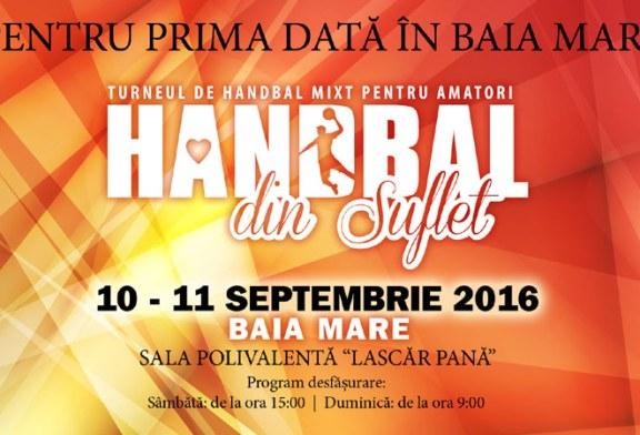Turneu de handbal mixt pentru amatori in Baia Mare