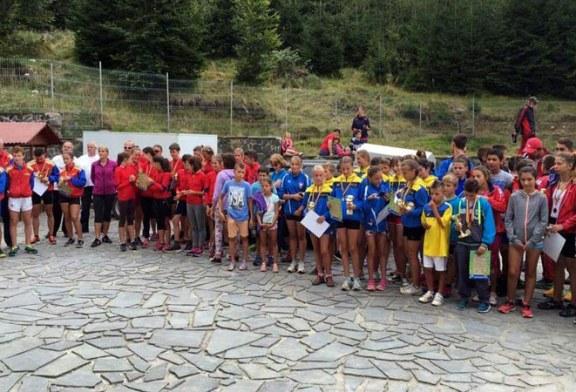 Biatlon cros – copii si cadeti: C.S.S. Baia Sprie a obtinut treititluri de Campioni Nationali si doua titluri de Vicecampioni Nationali