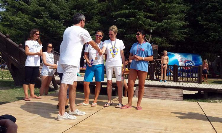 Aur cucerit de inotatorii masters Gold Stars Baia Mare in Croatia (FOTO)