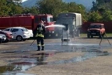 "O noua editie a ""Cupei Cpt. Marchis Adrian la indemanare pompieristica"". Vezi clasamentul (FOTO)"