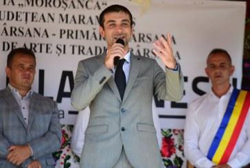 Presedintele CJ Maramures, Gabriel Zetea, a fost alaturi de nanesteni la intalnirea fiilor satului (FOTO)