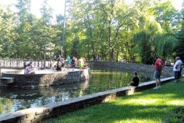 Lacul din Parcul Regina Maria, un proiect nefinalizat generator de accidente (FOTO)