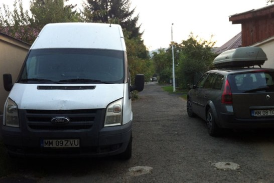 De la cititori: Cum au blocat doi soferi o strada din Baia Mare