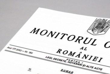 Monitorul Oficial trece sub autoritatea Camerei Deputatilor