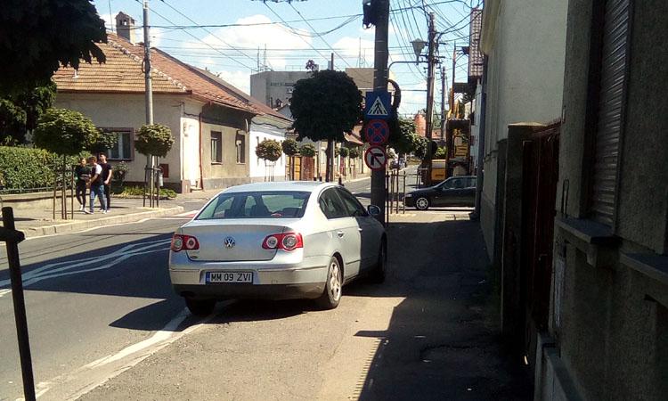parcare ilegala baia mare 2