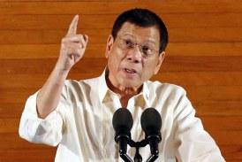 Presedintele filipinez vrea retragerea trupelor americane din tara sa